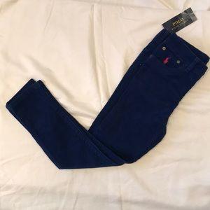 Girls Ralph Lauren royal blue cords